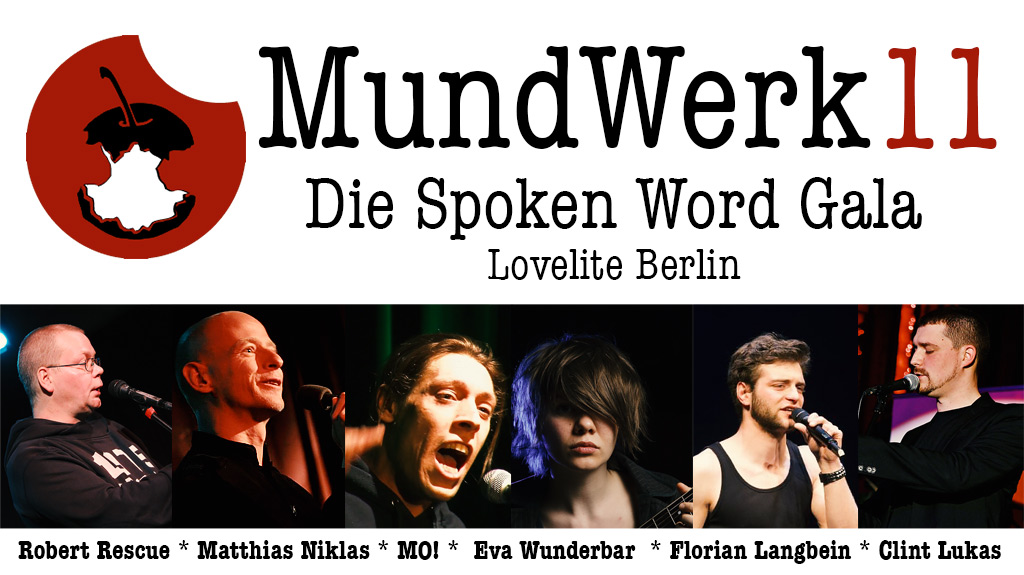 MUNDWERK SPOKEN WORD GALA BERLIN