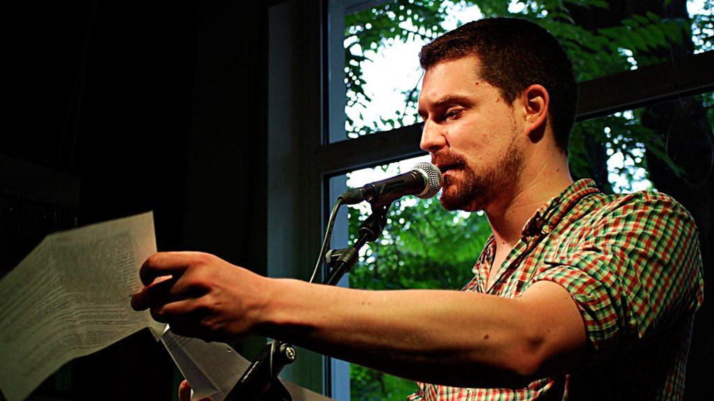Clint Lukas auf der Leipziger Buchmesse2020